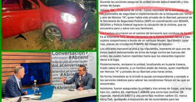 Inconsistencias en el operativo del rescate del periodista Marcos Miranda: fiscalía general