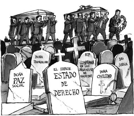 Veracruz, Estado disfuncional