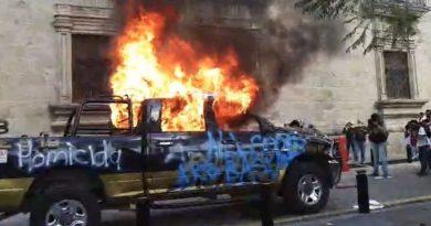 En llamas Jalisco en la protesta por la muerte de Alejandro Giovanni a manos de la policía