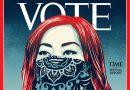 """Tras cien años Time sustituye su nombre por """"Vote"""" de cara a las elecciones de EU del 3 de noviembre"""