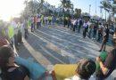 Marcha plantón de periodistas por 'levantón' del fotorreportero Carlos Zatarain en Mazatlán