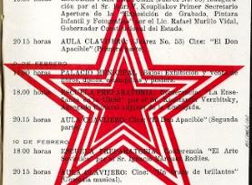 Semana de la Cultura Rusa en Xalapa en febrero de 1971