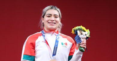 Escamotea premio gobierno morenista  de BCN a la medallista olímpica Aremi Fuentes